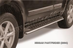NISSAN PATHFINDER (2004)-Защита штатного порога d42